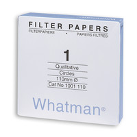 Filtres Whatman à plat pour analyses qualitatives