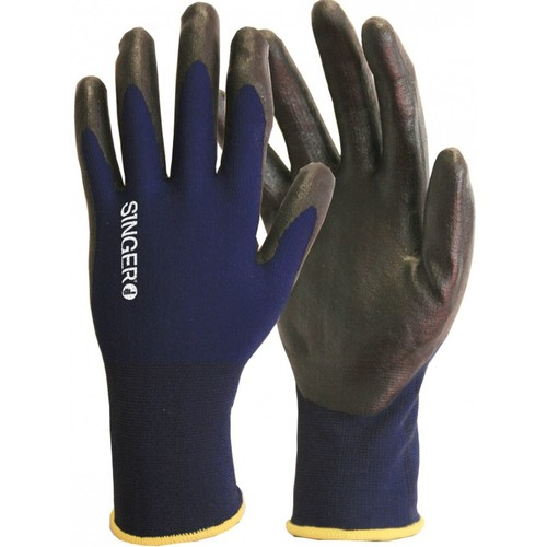 Gants de protection nitrile mousse